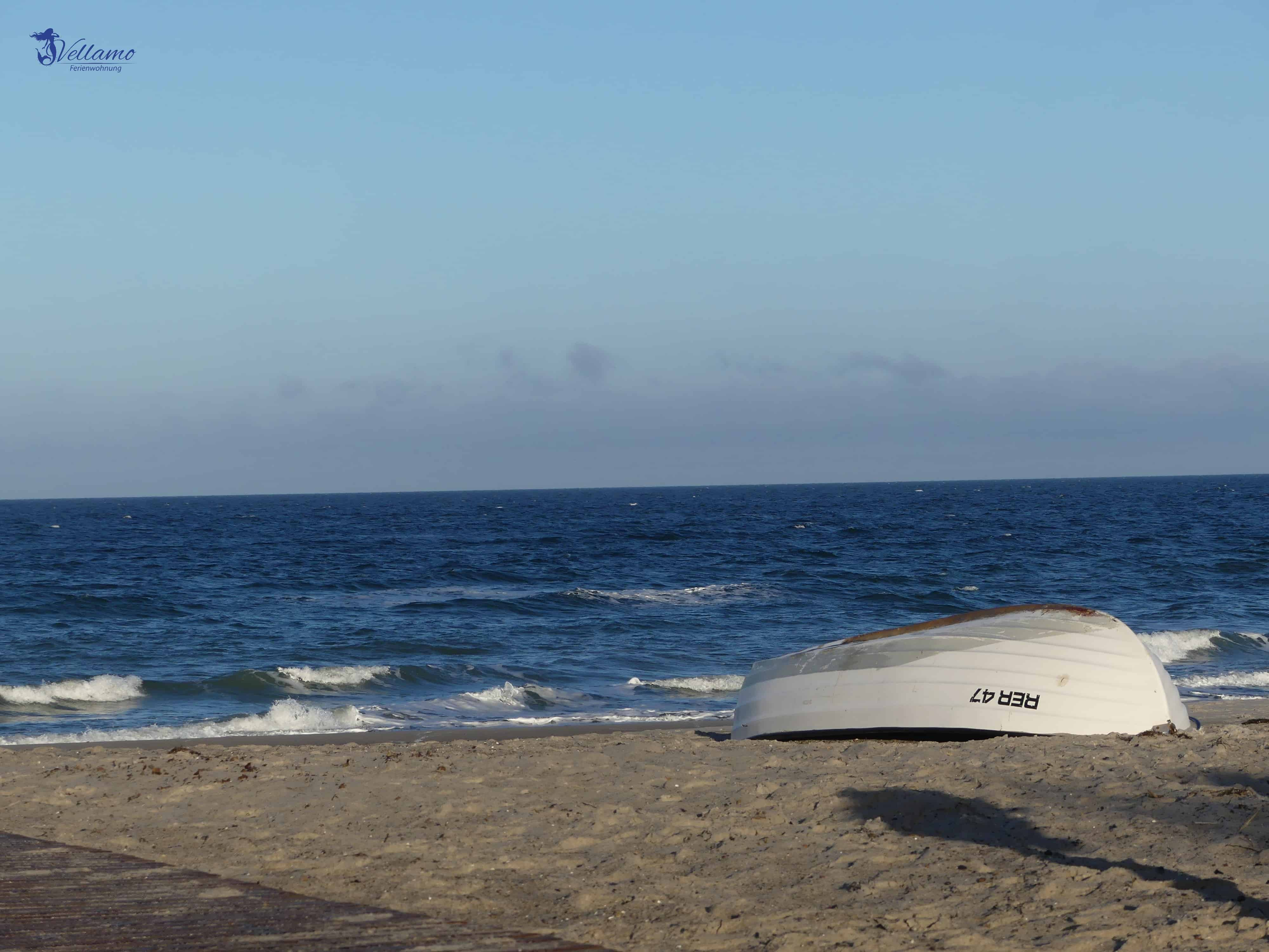 Ostseebad Rerik Bilder - Boot am Strand von Rerik
