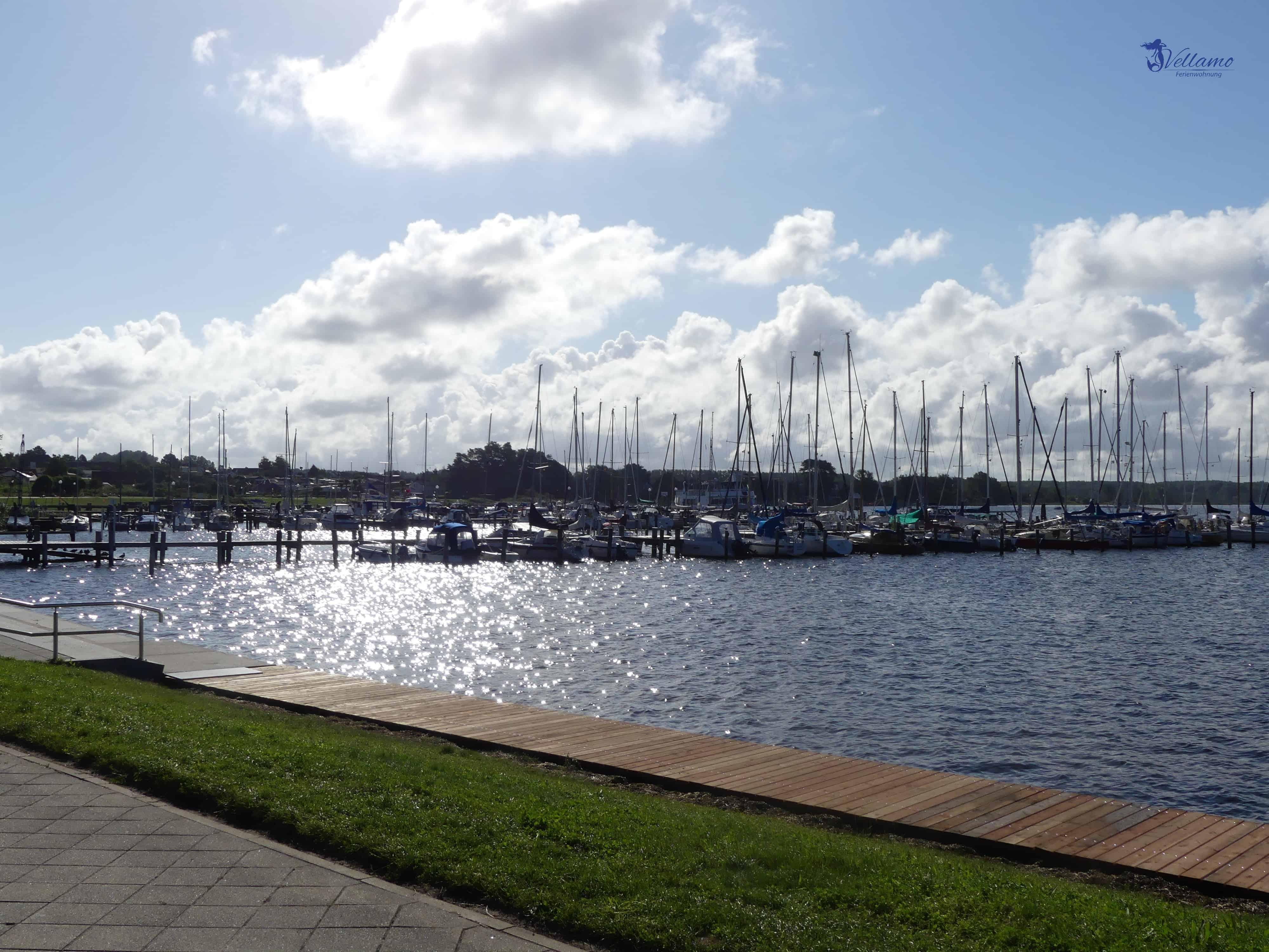 Ostseebad Rerik Bilder - Hafen im Salzhaff