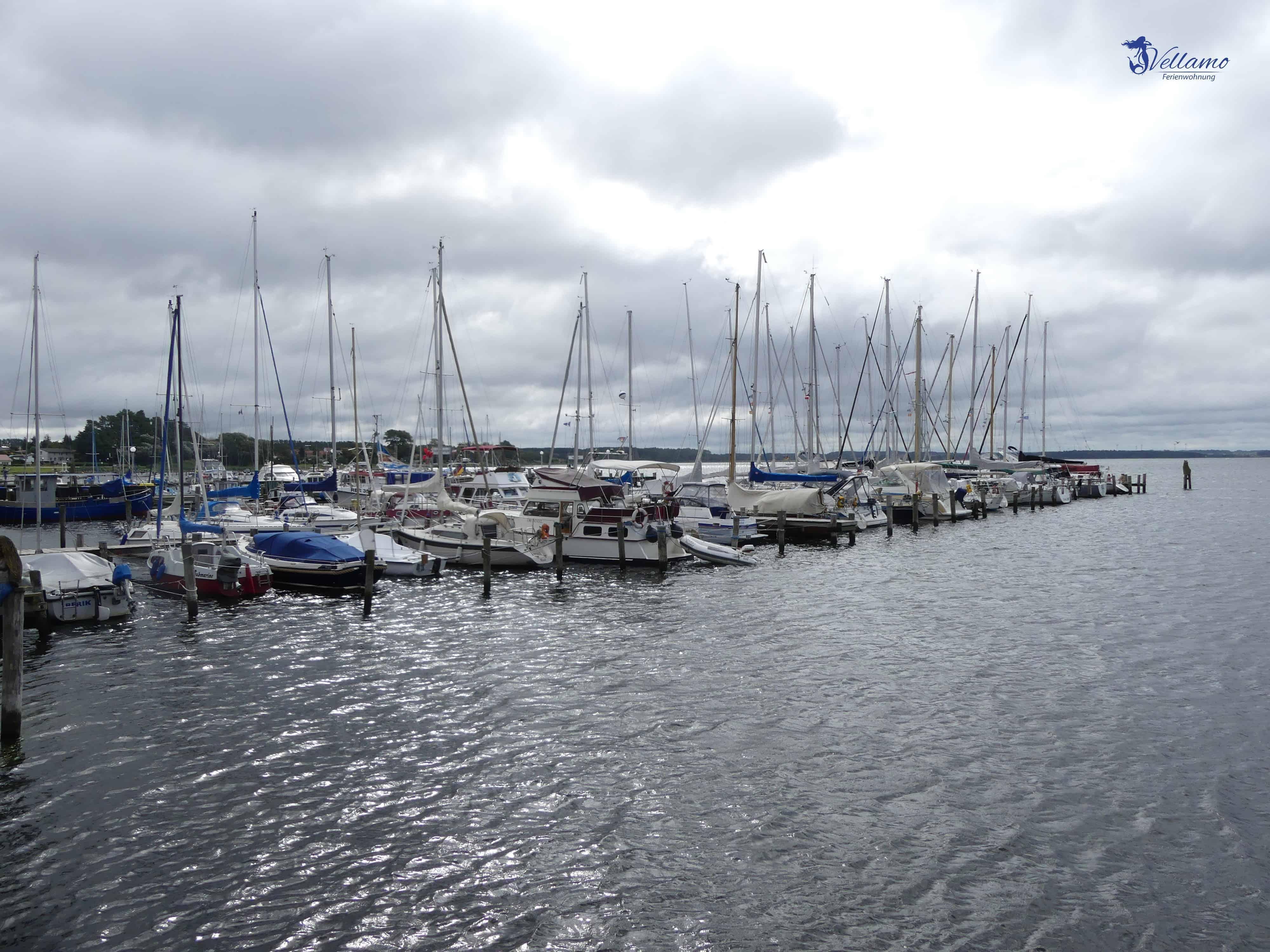 Ostseebad Rerik Bilder - Segelboote im Hafen