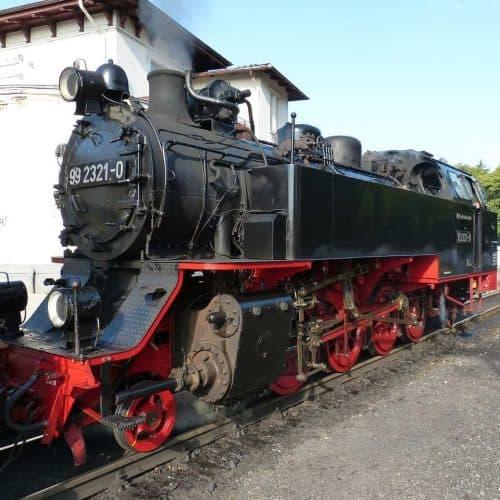 Ausflugstipps für Familien - Mecklenburgische Bäderbahn Molli