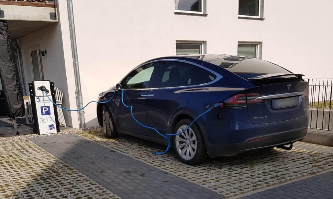 Ladestation Ostsee - Tesla